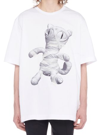 Juun.J 'mummy Cat' T-shirt