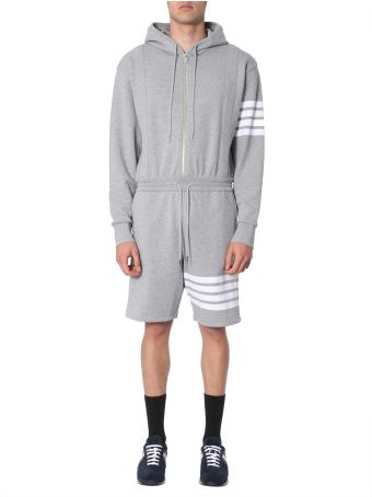 Thom Browne Cotton Sweatshirt Overall