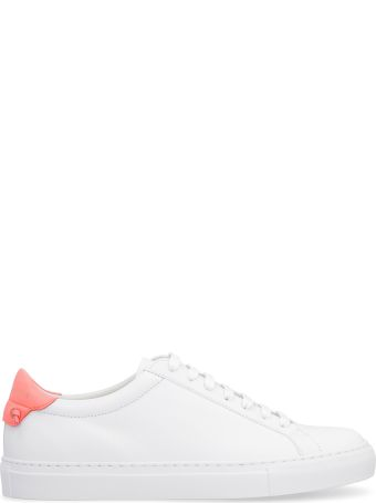 Givenchy Urban Street Leather Low-top Sneakers