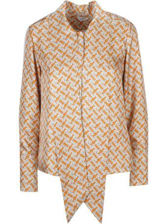 Burberry B All-over Motif Shirt