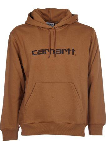 Carhartt Logo Embroidered Hoodie