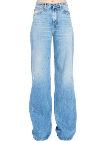 R13 'raegan Wilde Leg' Jeans