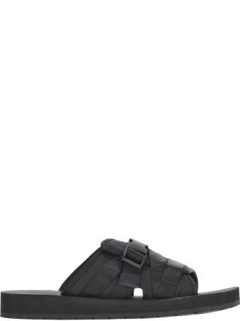Prada Prada Buckle Open-toe Sandals