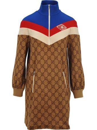 Gucci Gg Technical Jersey Dress