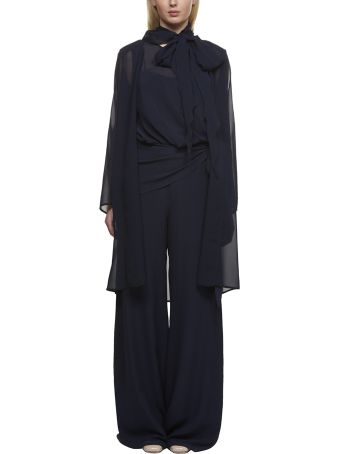 Max Mara Pianoforte Sheer Belted Jacket