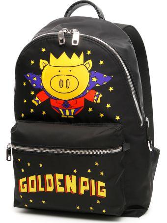 Dolce & Gabbana Golden Pig Backpack