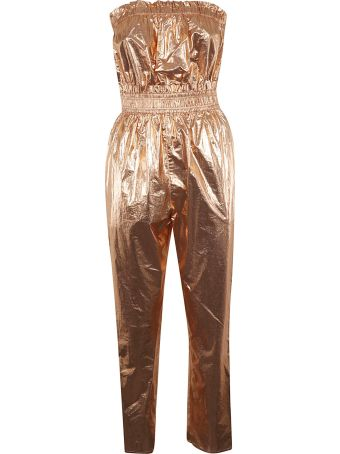Isabel Marant Ruffled Top Cropped Jumpsuit