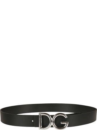 Dolce & Gabbana Classic Logo Belt