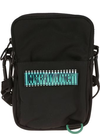 Off-White Off White Logo Patch Shoulder Bag