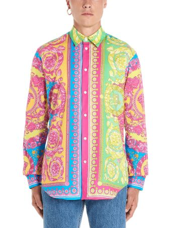 Versace 'barocco Fluo' Shirt