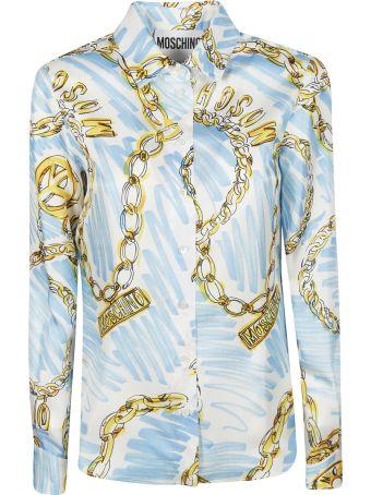 Moschino Chains Print Shirt