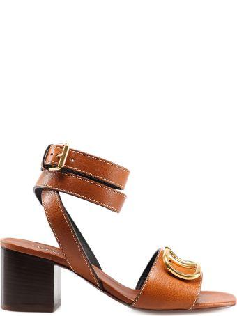 Valentino Garavani Logo Sandals