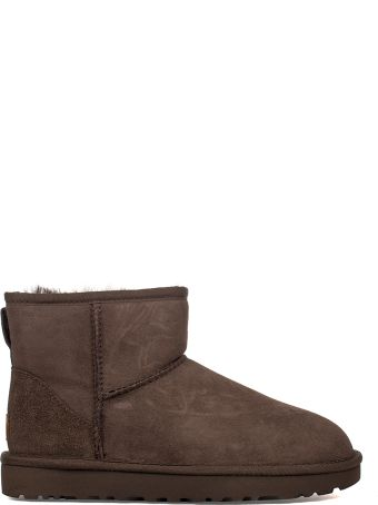 UGG Chocolate Mini Classic Low Boot