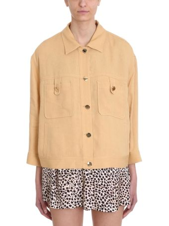 L'Autre Chose Ocher Cotton Jacket