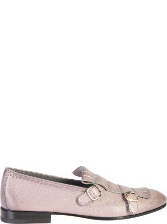 Santoni Fringed Details Shoes