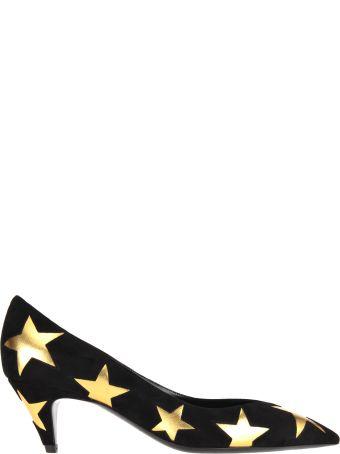 Saint Laurent Kiki Stars Pumps