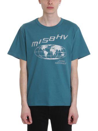 MISBHV Internazionale 2.0 Green Cotton T-shirt