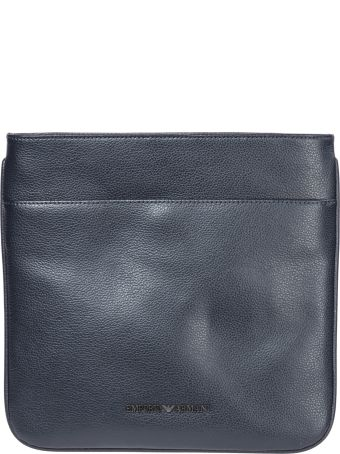 Emporio Armani  Leather Cross-body Messenger Shoulder Bag