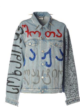 VETEMENTS Oversized Denim Jacket