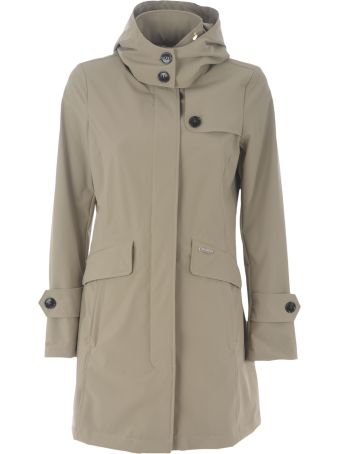 Woolrich Fayette Tech Stretch Trench