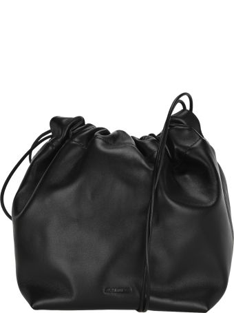 Jil Sander Drawstring Small Bucket Bag
