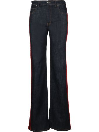 RED Valentino Jersey Ribbon Stretch Jeans