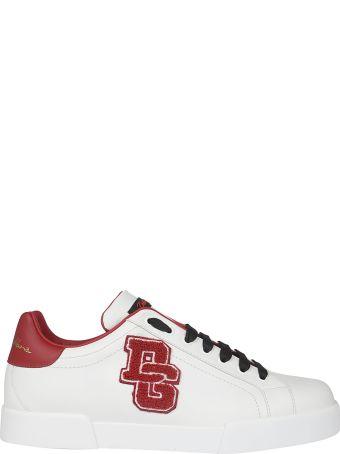 Dolce & Gabbana Portofino Patch Sneakers