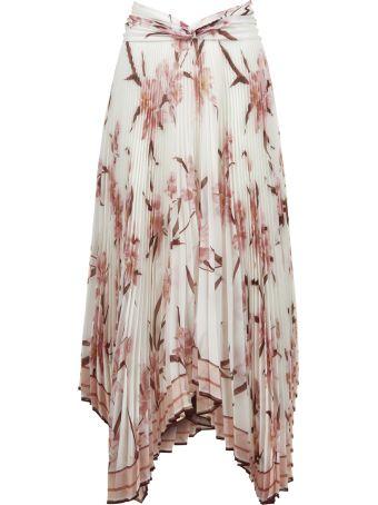 Zimmermann Floral Print Maxi Skirt