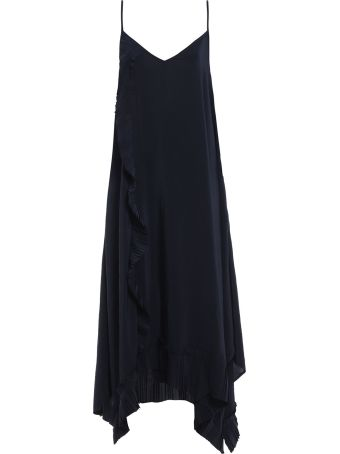 Parosh P.a.r.o.s.h. Pleated Slip Dress