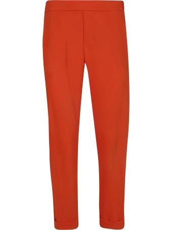 Parosh Slim Fit Trousers