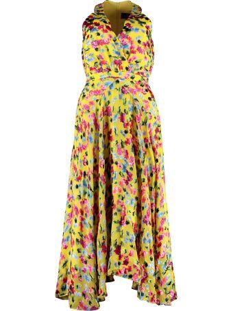 Saloni Rita Floral Midi Dress