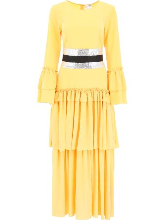In The Mood For Love Long Belted Dress