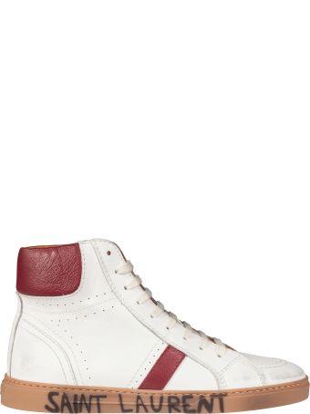 Saint Laurent Joe Hi-tops Sneakers