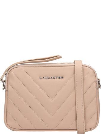 Lancaster Paris Nude Quilted Leather Mini Parisien Coutur Bag