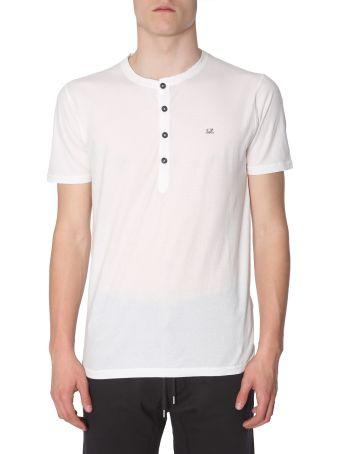 C.P. Company Half-button T-shirt