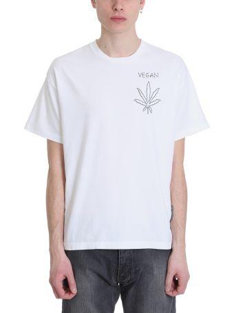 Riccardo Comi Vegan White Cotton T-shirt