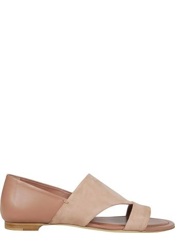 Tod's Cut-out Flat Sandals
