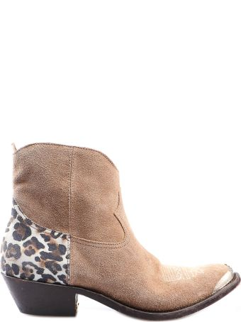 Golden Goose Sequined Young Boots