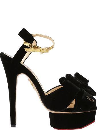 Charlotte Olympia Ribbon Design Sandals