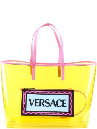 Versace Clear Vinyl Tote