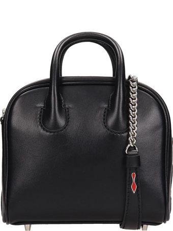 Christian Louboutin Black Leather Marie Jane Nano Bag