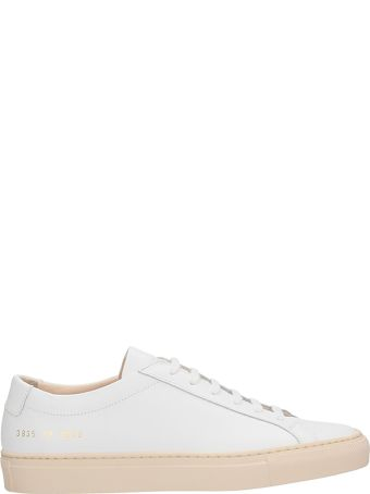 Common Projects Original Achilles Low White Leather Sneakers