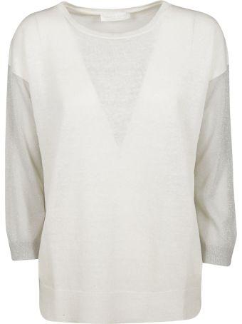 Fabiana Filippi Contrast Sleeve Sweater