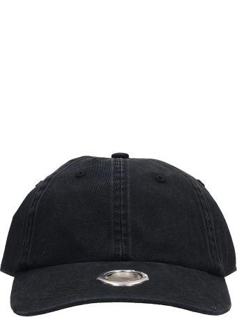 VETEMENTS Black Cotton Hat