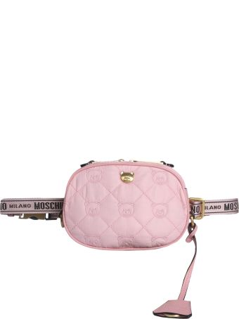 Moschino Teddy Bear Quilted Pouch