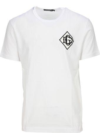 Dolce & Gabbana Dolce&gabbana Logo Apliqué T-shirt