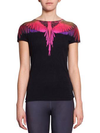 Marcelo Burlon Color Wings Cotton T-shirt
