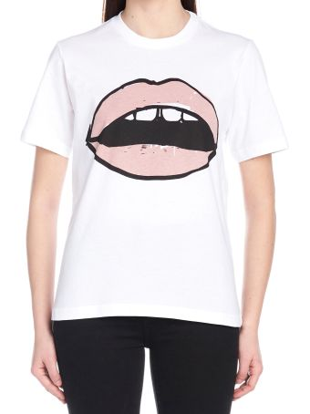 Markus Lupfer 'painted Blush Lip Alex' T-shirt