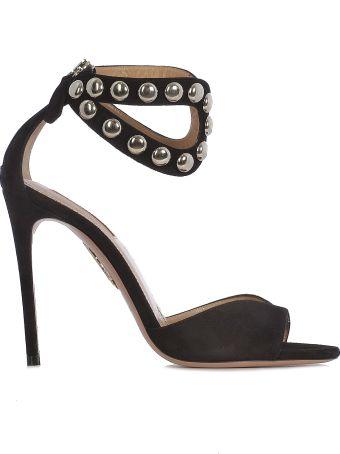 Aquazzura Studded Sandals