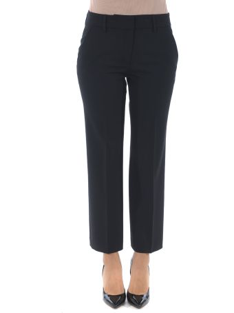 True Royal Cropped Trousers